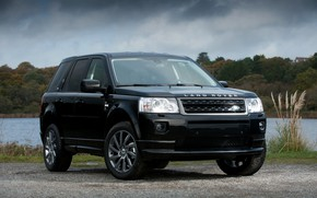 Picture Land Rover, 2010, crossover, Freelander, SUV, the pond, Freelander 2, LR2