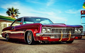 Picture Chevrolet, Impala, Lowrider, Custom, 1966 Year