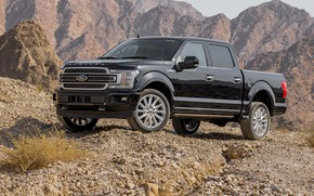 Picture Ford, 2018, F-150, F-180, Ford 2018 F-150 Limited SuperCrew_Pickup