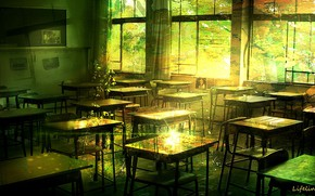 Picture Room, class, abandoned