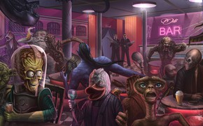 Picture Figure, Monster, Star Wars, Style, Stranger, Predator, Movie, Fantasy, Avatar, Art, Star Wars, Predator, Alien, …