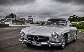 Picture Car, Coupe, Mercedes - Benz, 300 SL, Race track
