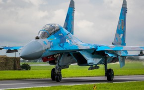 Picture Fighter, Ukraine, Su-27, Pilot, Su-27UB, Chassis, Cockpit, Ukrainian air force, RL