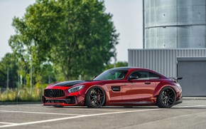 Picture Mercedes-Benz, side view, AMG, 2018, Prior Design, GT S, PD700GTR