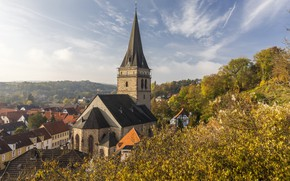 Picture autumn, Germany, Warburg