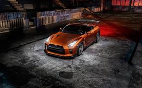 Wallpaper GTR, Light, Nissan, R35, Graphity, Bronze