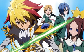 Picture anime, art, guys, star driver