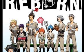 Picture team, characters, Katekyo Hitman reborn, Teacher mafia Reborn