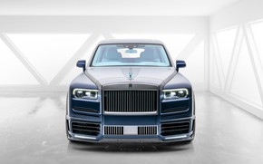 Picture design, tuning, Rolls-Royce, luxury, exclusive, the interior of the car, Mansory, 2020, Rolls-Royce Cullinan, Mansory …