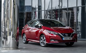 Picture Nissan, electric, Leaf