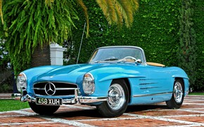Picture Roadster, Coupe, Old, Mercedes - Benz, Vehicle, 300 SL