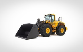 Picture volvo, excavator, wheel loader, L180 G