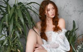 Picture pose, look, Dmitry Levykin, hair, Eva, girl