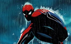 Picture Rain, Marvel, Comics, Peter Parker, Spider Man