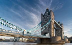 Picture bridge, London, UK, Tower Bridge, London