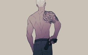 Picture back, tattoo, guy, once, 19 days, 19 Days