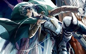 Picture guy, Attack Of The Titans, Shingeki No Kyojin, Levi, corporal