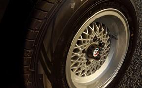 Picture wheel, BMW, sedan, 1976, four-door, 5-series, E12, 530 MLE