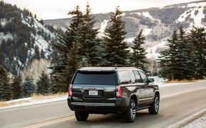 Picture mountains, 2018, GMC, SUV, Yukon, Yukon XL Denali