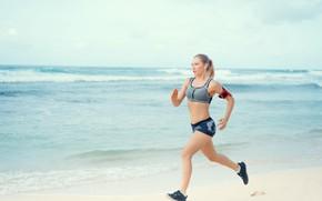 Picture sun, run, phone, fitness, tranning