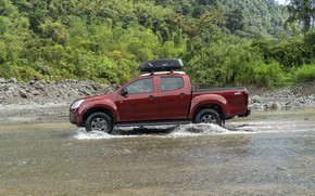 Picture Chevrolet, side view, pickup, Isuzu, 2020, D-Max, 2021, Hi-Ride
