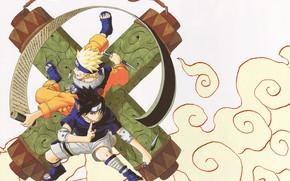 Picture Naruto, Naruto, boys, Sasuke Uchiha, Uzumaki Naruto