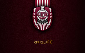 Picture wallpaper, sport, logo, football, CFR Cluj