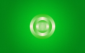 Picture circles, green, figure, gradients