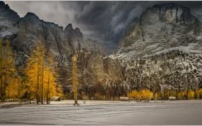 Picture autumn, mountains, Alps, Italy