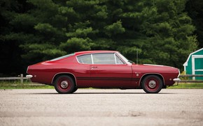 Picture Muscle, Red, Classic, Barracuda, Plymouth, Hemi, Plymouth Barracuda
