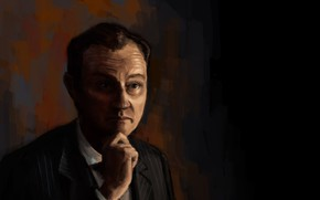 Picture Sherlock, Mycroft Holmes, Sherlock BBC, by mrborsch