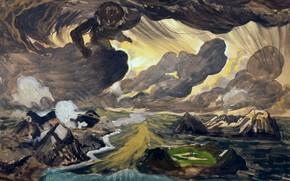 Picture Genesis, 1924, Charles Ephraim Burchfield