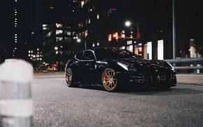 """Picture Ferrari, Black, """"Ferrari Four"""", Black Ferrari FF, Ferrari F"""