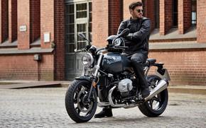 Picture Motorcycle, bike, Ryder, BMW R, nine T