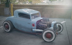 Picture Ford, Hot Rod, Custom, Vehicle