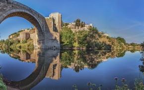 Picture Spain, Toledo, Toledo, Bridge of Alcantara