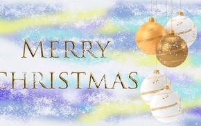 Picture Graphics, Snow, Congratulations, Bombki
