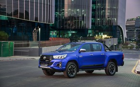 Picture auto, the city, photo, Toyota, Hilux, 2019