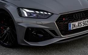 Picture Audi, coupe, headlight, the hood, before, RS 5, 2020, RS5 Coupe