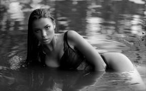 Picture look, pose, Girl, Karen Abramyan