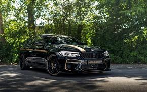 Picture BMW, sedan, drives, 2018, Biturbo, BMW M5, Manhart, M5, V8, F90, diffuser, 4.4 L., 723 …