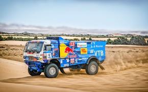 Picture Sand, Sport, Machine, Truck, Race, Master, Russia, 500, Kamaz, Rally, Dakar, KAMAZ-master, Dakar, Rally, KAMAZ, …