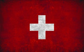Picture cross, flag, red, Switzerland, cross, fon, flag, switzerland