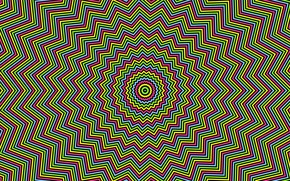 Picture pattern, hypnosis, bright color