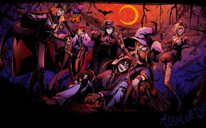 Wallpaper Halloween, Angel bloodshed, Satsuriku no Tenshi, personage