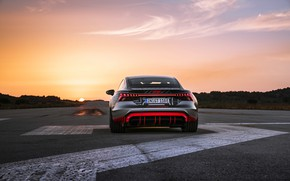 Picture Audi, coupe, rear view, 2020, RS e-Tron GT Prototype