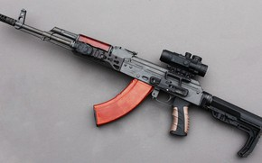 Picture tuning, machine, custom, custom, AK-47, AKM, Kalash, Kalashnikov, AKM, assault Rifle, Kalashnikov