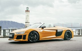 Picture Audi R8, Spyder, ABBOT, 2017