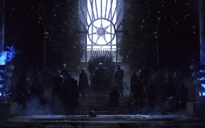 Picture Snow, Fantasy, Art, Fiction, The throne, Game of Thrones, Game of thrones, Illustration, Cold, Characters, …