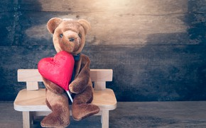 Picture Toy, bear, heart